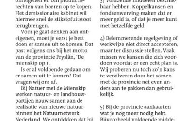 Opinie in Leeuwarder Courant